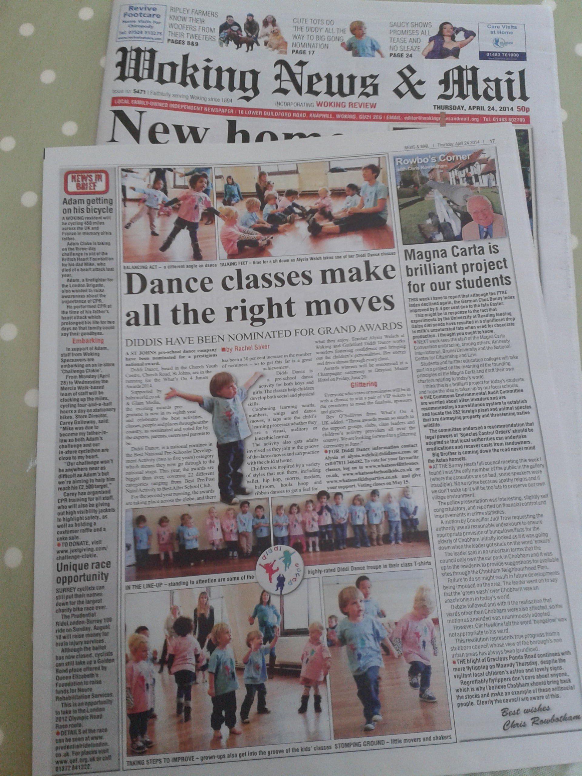 diddi dance woking news