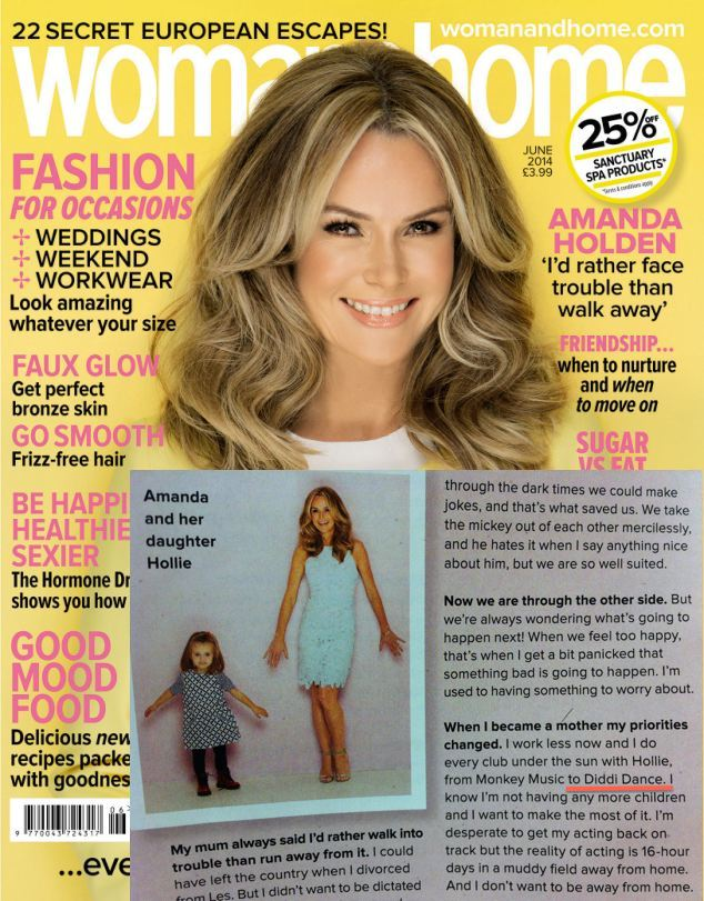 Amanda Holden Article