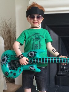 Rock star boy