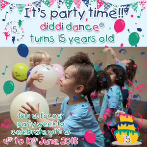 toddler dance preschool birthday celebrate party